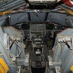 B-52 training cockpit