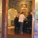 View of bar scene