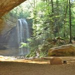 Ash Cave in the Hocking Hills