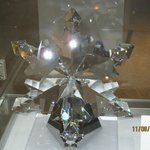 One of many crystal items in lobby's gift shoppe