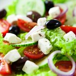 Now this is a delicious Greek Salad!