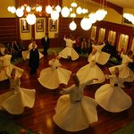 Whirling Dervish Ceremony in the Monastery - Istanbul