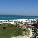 golf course and beach