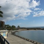 View of Calheta beach & Calheta Beach Hotel