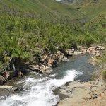 River that runs through the valley