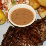 Australian Sirloin Steak with Pepper sauce