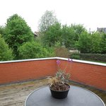 Terrace of the room - Villa Commandeur - Mechelen - May 8