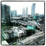 View to KL Sentral and Brickfields.
