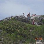 Climb the hillock