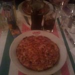 La mini quiche lorraine qu'ils appellent pizza