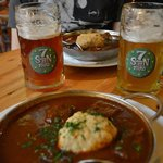 Goulash and beers