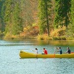 Canoeing in Plitvice Lakes