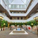The_Fern_Residency_Rajkot_Atrium / Reception