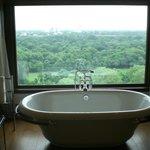 il bagno panoramico della nostra camera