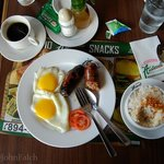 The Longanisa breakfast at the Aristocrat