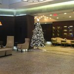 The beautiful hotel lobby, taken 14/12/2012
