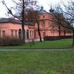 Seitenansicht Schloss Rastatt
