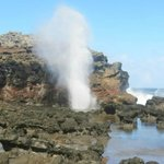 Nakalele Blowhole, about 25 minutes north of Kaleialoha