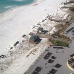 Ariel view-beach wedding option