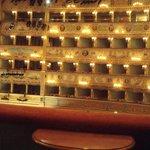 Camarotes do teatro La Fenice