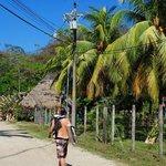 walk from beach/main street to nautilus