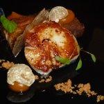 Pork Belly, scallop and Cumin crisp