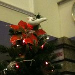 Christmas Tree - with Dove atop