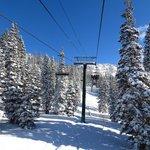 Snake Creek chair lift