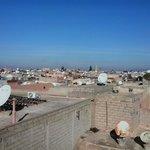 Vue du plan plus haut du Dar