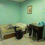 Clean simple room