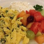 Healthy breakfast at Il Fornaio