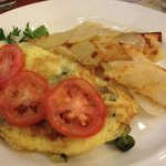 mushroom omelette from Il Fornaio