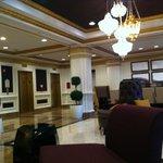 Hotel ground lobby