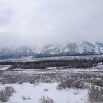 Tetons surrounding