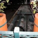 Detalle de los extractores pegados a la terraza de la habitación