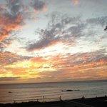 Sunset from lanais