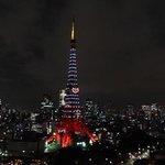 東京タワーはハートのクリスマス