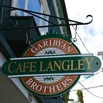 Cafe Langley on First Street.