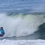 Coach / Owner Grayme 'Gally' Galbraith on a nice wave