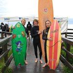 Jordie Brown, Gally & Ray at the local Quiksilver Charity event Surf Fest