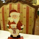 decoración, con bonito detalle navideño
