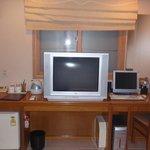 テレビとパソコン