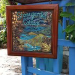 Stonegarden Cottage sign