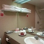 Bathroom- great amenities