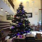 Lobby zu Weihnachten
