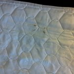 Stains on pull-out mattress