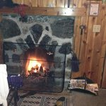 cozy fire!