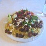 Lamb Shawerma Plate
