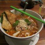 The Tom Yum Noodle soup