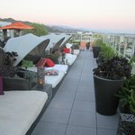 Roof deck lounges